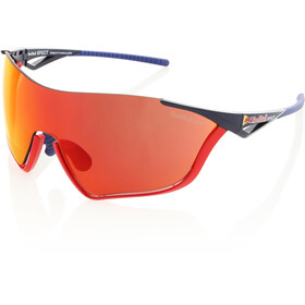 Red Bull SPECT Flow Zonnebril, glossy red/glossy blue/smoke-red
